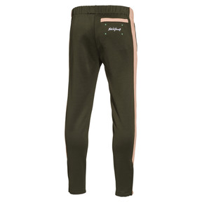 Thumbnail 2 of PUMA x Emory Jones Spezial Groove City Track Pants, Forest Night-Dusty Coral, medium