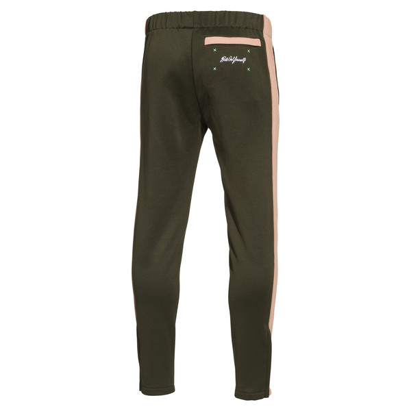 PUMA x Emory Jones Spezial Groove City Track Pants, Forest Night-Dusty Coral, large