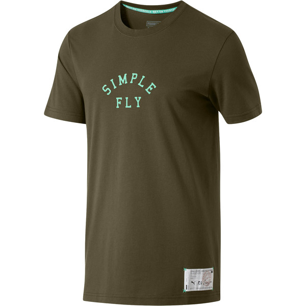 PUMA x Emory Jones Simple Fly T-Shirt, Forest Night, large