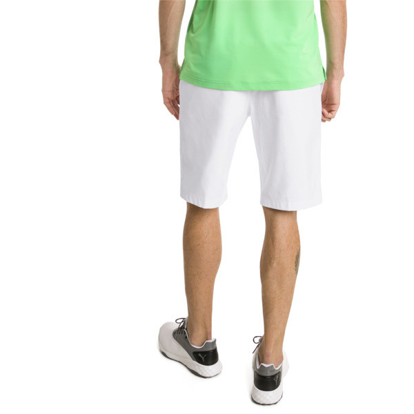 Jackpot Woven Men's Golf Shorts, Bright White, large