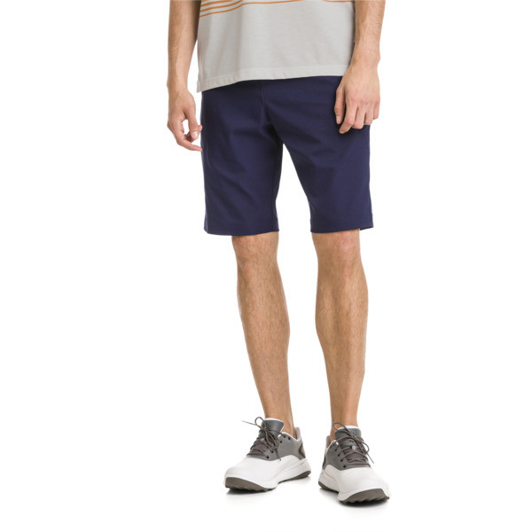 Jackpot Woven Men's Golf Shorts, Peacoat, large