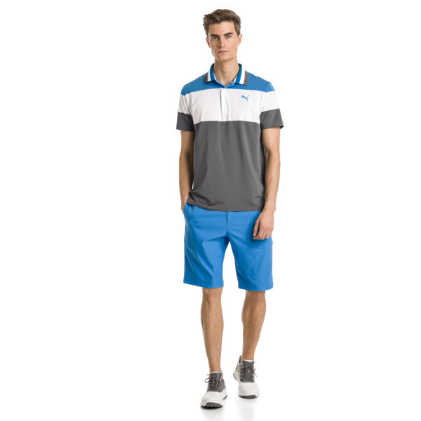 Jackpot Woven Men's Golf Shorts, Bleu Azur, large