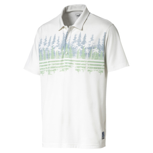 Pines Men's Golf Polo, Ashley Blue, large