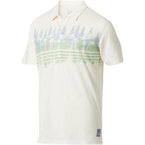 Miniatura 1 de Camiseta tipo polo Pines para hombre, Ashley Blue, mediano