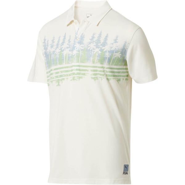Camiseta tipo polo Pines para hombre, Ashley Blue, grande