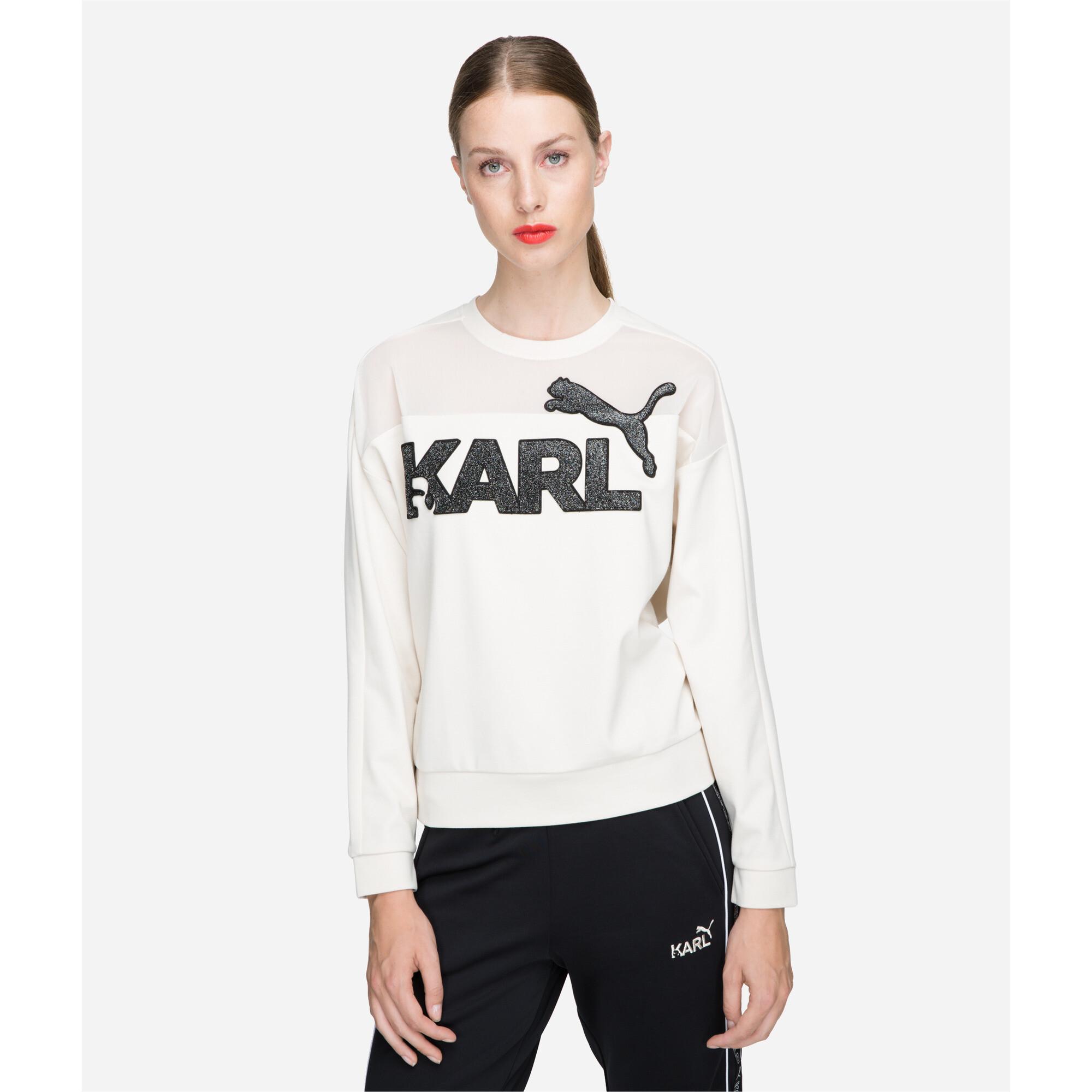 Image Puma PUMA x KARL LAGERFELD Women's Sweater #1