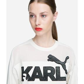 Thumbnail 6 of PUMA x KARL LAGERFELD Women's Sweater, Birch, medium