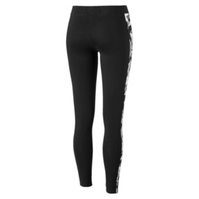 Thumbnail 3 of Classics T7 AOP Women's Leggings, Cotton Black, medium