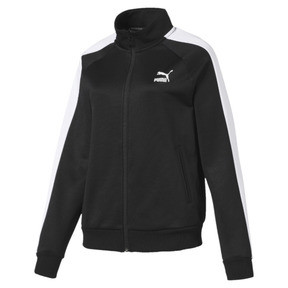 Thumbnail 4 of Classics T7 PT Women's Track Jacket, Puma Black-1, medium