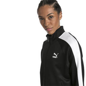 Thumbnail 1 of Classics T7 PT Women's Track Jacket, Puma Black-1, medium