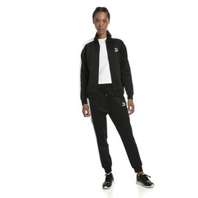 Thumbnail 3 of Classics T7 PT Women's Track Jacket, Puma Black-1, medium