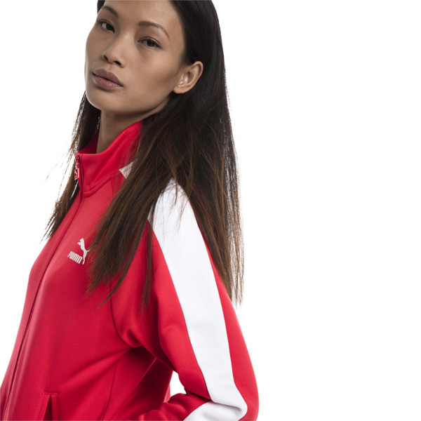 Classics T7 PT Women's Track Jacket, Hibiscus, large