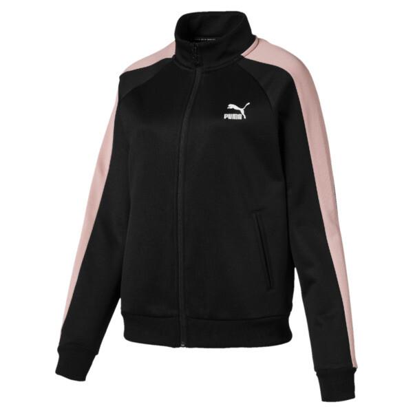 Classics Women's T7 Track Jacket, Puma Black, large