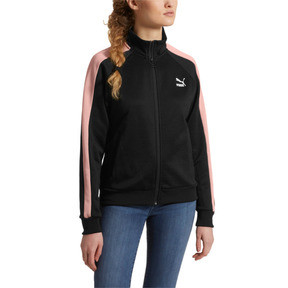 Thumbnail 2 of Classics Women's T7 Track Jacket, Puma Black, medium