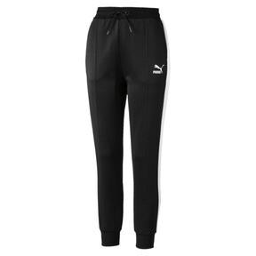 Miniaturka 4 Damskie spodnie dresowe Classics T7 z dzianiny, Puma Black, średnie