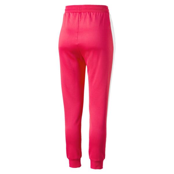Damskie spodnie dresowe Classics T7 z dzianiny, Hibiscus, obszerny