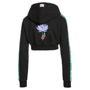 Thumbnail 4 of PUMA x SUE TSAI Cropped Women's Hoodie, Puma Black, medium