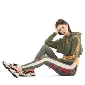 Thumbnail 6 of PUMA x SUE TSAI Cropped Women's Hoodie, Olivine, medium