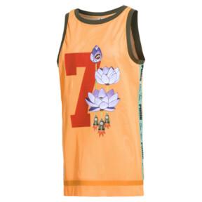 Thumbnail 1 of PUMA x SUE TSAI WOMEN'S  DRESS, Orange Pop, medium-JPN