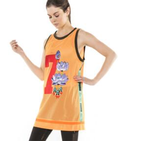 Thumbnail 2 of PUMA x SUE TSAI WOMEN'S  DRESS, Orange Pop, medium-JPN