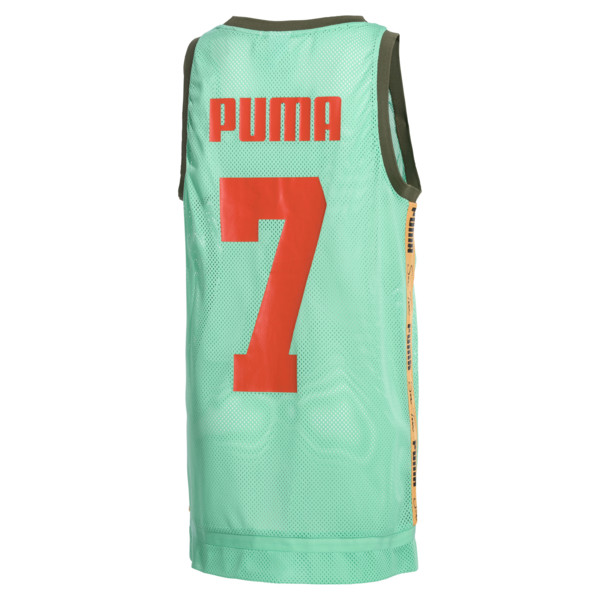 PUMA x SUE TSAI Damen Kleid, Biscay Green, large