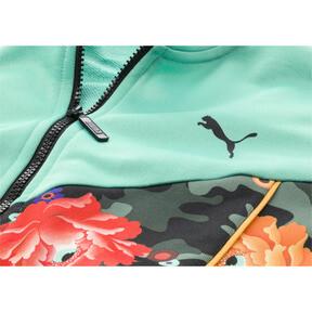 Thumbnail 6 of PUMA x SUE TSAI XTG Women's Track Jacket, Puma Black-Black- Peony, medium