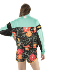 Thumbnail 3 of PUMA x SUE TSAI XTG Track Top, Puma Black-Black- Peony, medium