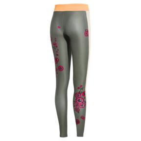 Miniaturka 4 Damskie legginsy PUMA x SUE TSAI Blossom, -Olivine, średnie