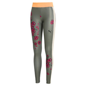 Thumbnail 1 of PUMA x SUE TSAI Blossom Women's Leggings, -Olivine, medium