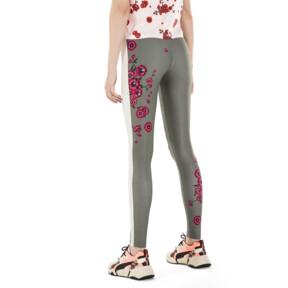 Miniaturka 3 Damskie legginsy PUMA x SUE TSAI Blossom, -Olivine, średnie