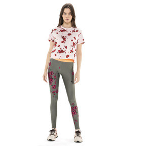 Thumbnail 5 of PUMA x SUE TSAI Blossom Women's Leggings, -Olivine, medium