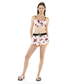 Thumbnail 5 of PUMA x SUE TSAI Cropped Women's Top, Puma White-AOP Pearl Cherry, medium