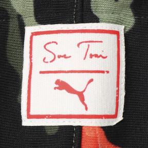 Thumbnail 7 of PUMA x SUE TSAI ウィメンズ  スウェットフーディー, - Black- Peony AOP, medium-JPN