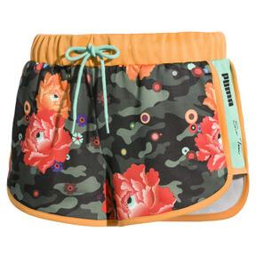 Thumbnail 4 of PUMA x SUE TSAI Women's Shorts, Puma Black- AOP, medium