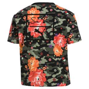Thumbnail 4 of T-Shirt PUMA x SUE TSAI pour femme, Puma Black- Peony, medium
