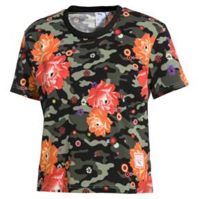 Thumbnail 1 of T-Shirt PUMA x SUE TSAI pour femme, Puma Black- Peony, medium