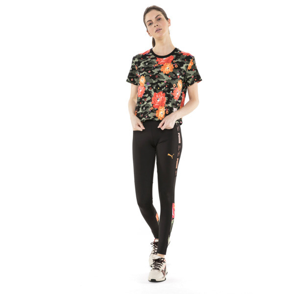 PUMA x SUE TSAI ウィメンズ  Tシャツ, Puma Black- Peony, large-JPN