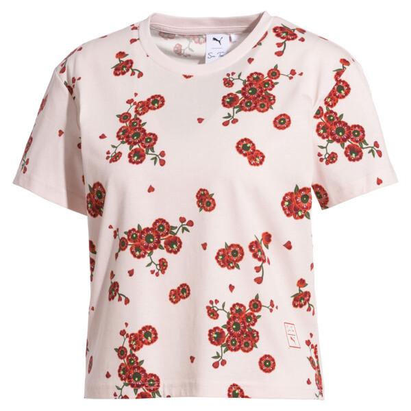 PUMA x SUE TSAI ウィメンズ  Tシャツ, -- Cherry Blossom AOP, large-JPN