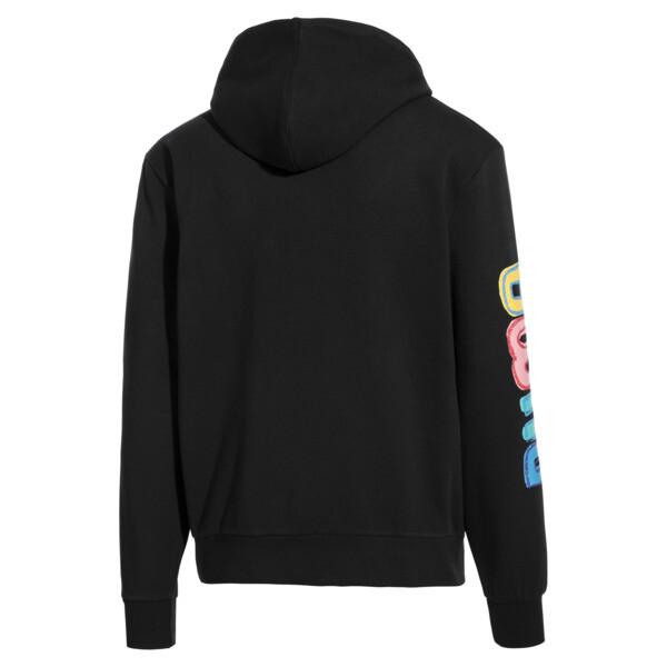 Sweatshirt à capuche PUMA x BRADLEY THEODORE pour homme, Puma Black, large