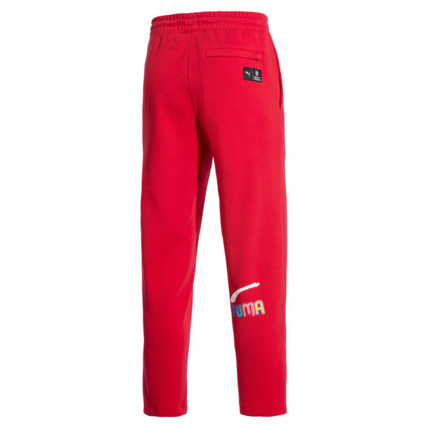 PUMA x BRADLEY THEODORE Men's Track Pants, High Risk Red, large