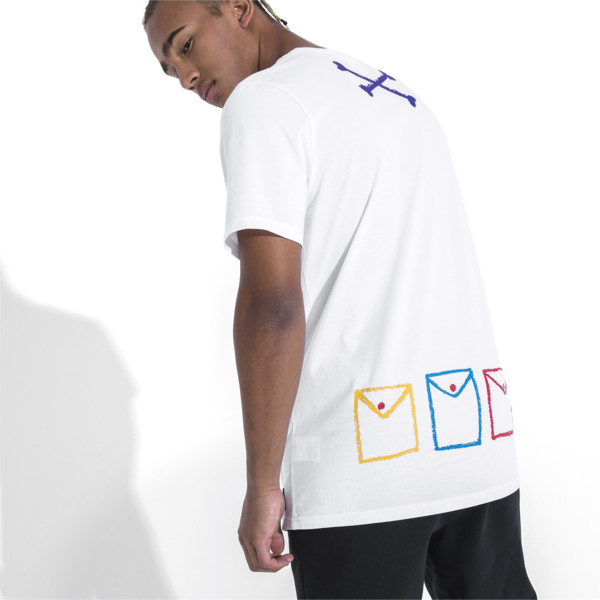 PUMA x BRADLEY THEODORE Short Sleeve Men's Tee, Puma White, large