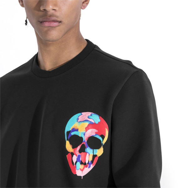 PUMA x BRADLEY THEODORE Men's Sweater, Puma Black, large