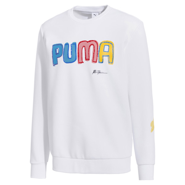 PUMA x BRADLEY THEODORE Men's Sweater, Puma White, large