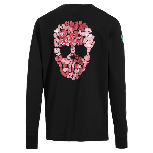 T-Shirt à manches longues PUMA x BRADLEY THEODORE pour homme, Puma Black, large