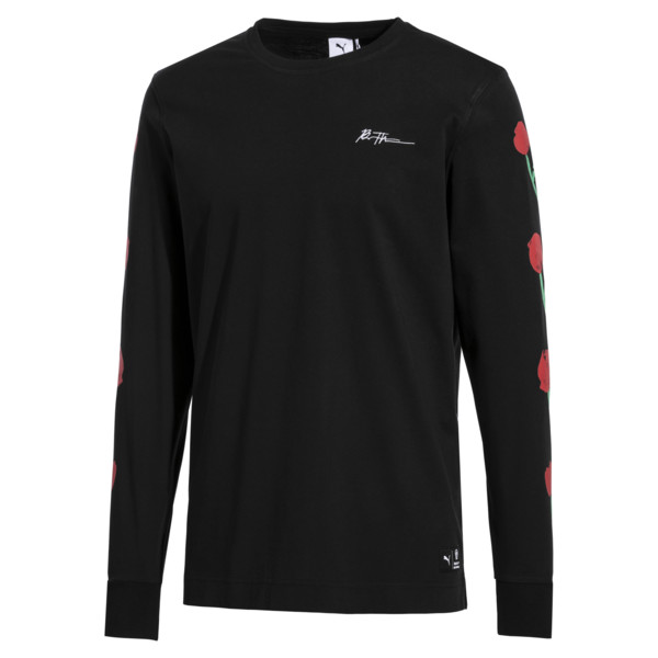 PUMA x BRADLEY THEODORE Long Sleeve Men's Tee, Puma Black, large