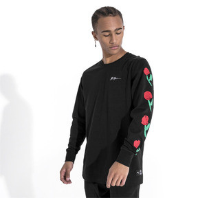 Thumbnail 2 of PUMA x BRADLEY THEODORE LS Tシャツ (長袖), Puma Black, medium-JPN