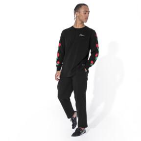 Thumbnail 5 of PUMA x BRADLEY THEODORE LS Tシャツ (長袖), Puma Black, medium-JPN