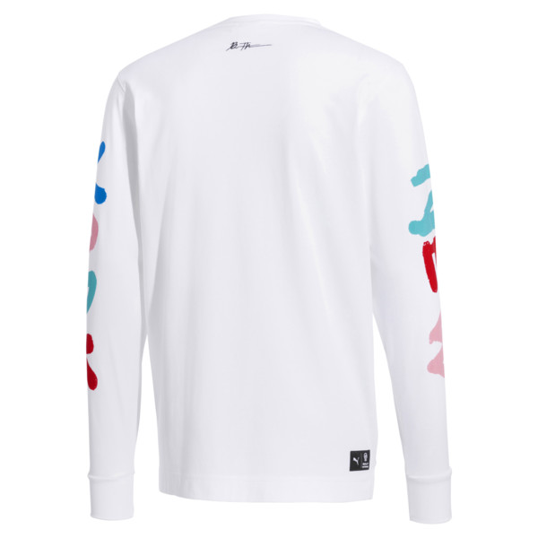 PUMA x BRADLEY THEODORE Long Sleeve Men's Tee, Puma White, large