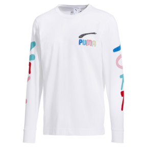 Thumbnail 1 of PUMA x BRADLEY THEODORE Long Sleeve Men's Tee, Puma White, medium