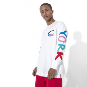 Thumbnail 2 of PUMA x BRADLEY THEODORE Long Sleeve Men's Tee, Puma White, medium
